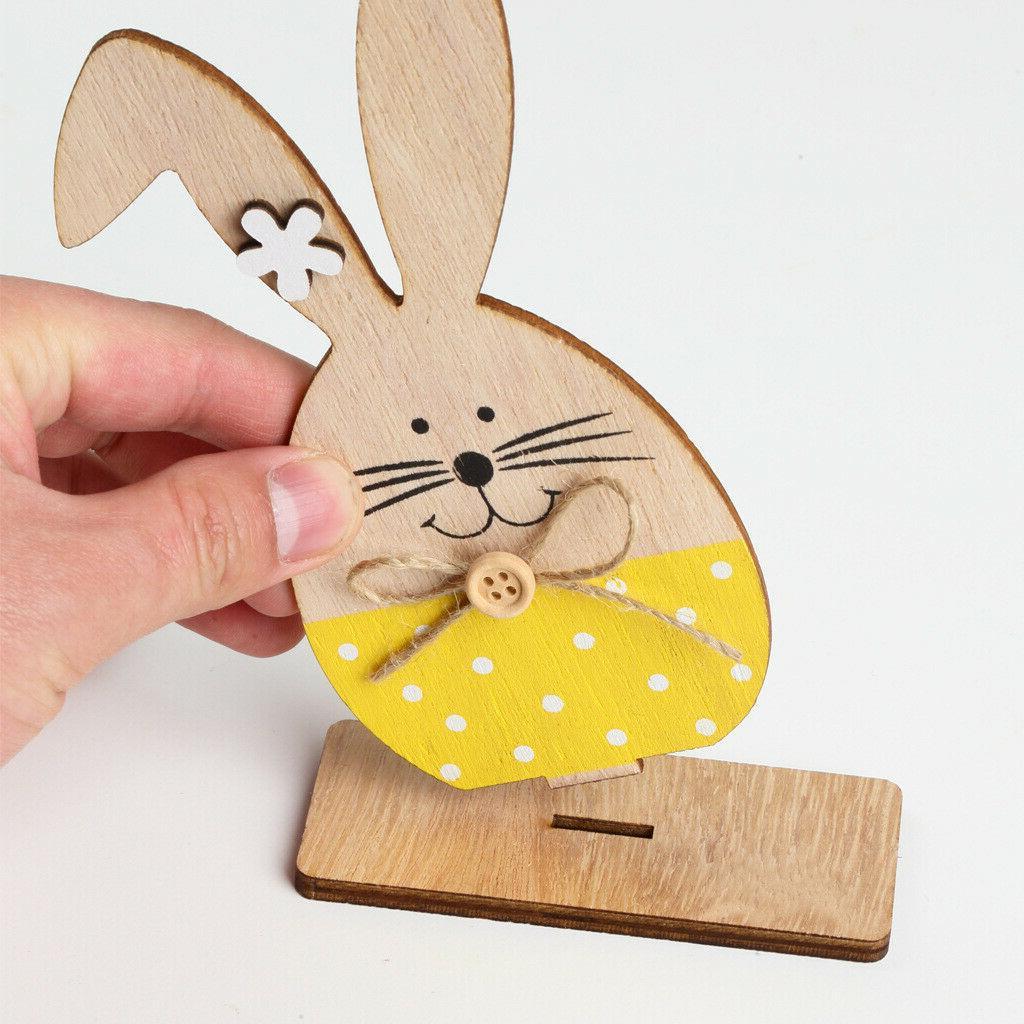 Wooden Easter Ornament Desktop Baby Wedding Party