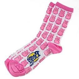 Peeps *Limited Edition* Easter Bunny Socks/Liners MEDIUM Wo