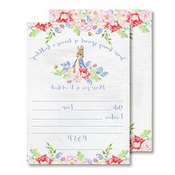Amanda Creation Little Rabbit Birthday Party Fill in Style I