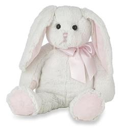 Bearington Loppy Longears White and Pink Girl Plush Stuffed
