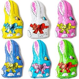Madelaine Solid Premium Milk Chocolate Mini Bunnies Wrapped