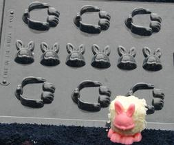 MARSHMALLOW BUNNY CHOCOLATE CANDY MOLD MOLDS DIY EASTER PART