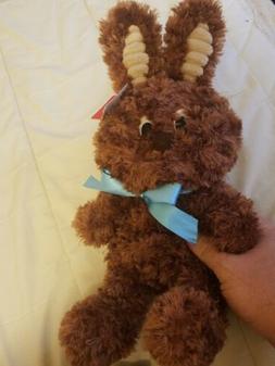 Aurora Milk Choclate Bunny Plush stuffed animal