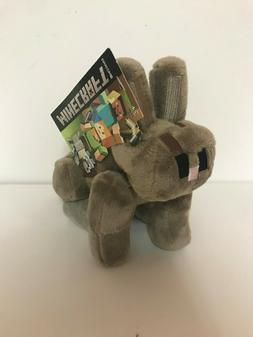 Minecraft Plush Rabbit Stuffed Animal Brown 8 inch Jinx Moja