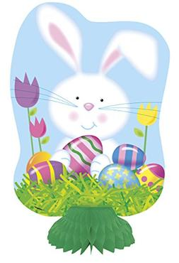"8"" Mini Easter Bunny Centerpiece Decorations, 3ct"