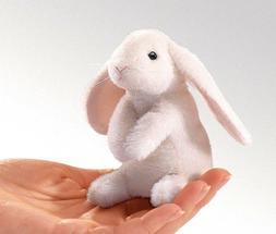 Folkmanis Mini Lop Ear Rabbit Finger Puppet