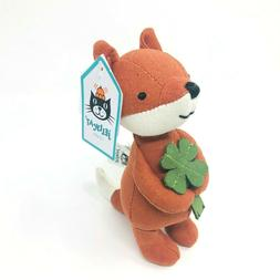 Jellycat Mini Messenger Fox Stuffed Animal, 6.5 inches