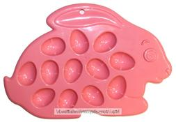 MOMENTUM* Holds 12pcs EGG TRAY/CARRIER Plastic PINK BUNNY RA