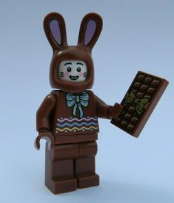 NEW Chocolate Easter Bunny Ears Candy Bar Rabbit CMF LEGO Mi