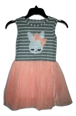 NEW Easter Bunny Sequin Rabbit Girls Sleeveless Tutu Dress 2