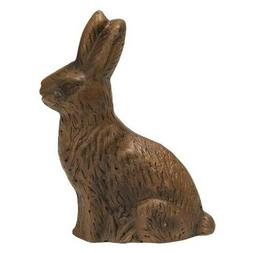 "New Easter Faux CHOCOLATE BUNNY Rabbit Resin Decoration 8"" P"