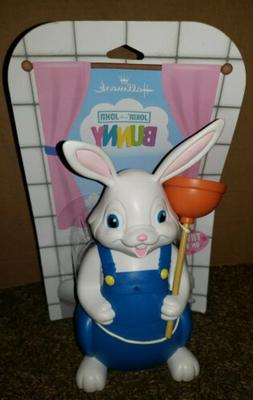 NEW Hallmark easter bunny jokin' in the john bathroom decora