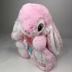 New Hoppy Hopster Easter Bunny 2020 Dan Dee Pink/White Fluff