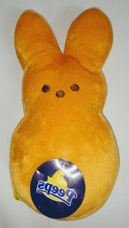 NEW Just Born Peeps Plush Toy Orange Easter Bunny 9 inches w