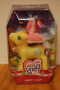 NEW My Little Pony G3 FLOWER WISHES Easter Bunny Ears Figure