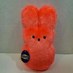 """New Peeps Plush 9"""" Bunny Rabbit Stuffed Animal Easter -NEON"""
