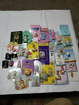 Nice Easter Bunny Lapel Pins Brooches Lot estate lot