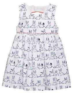 NWT Gymboree Baby Bunny Rabbit Print Dress Easter Baby Girl