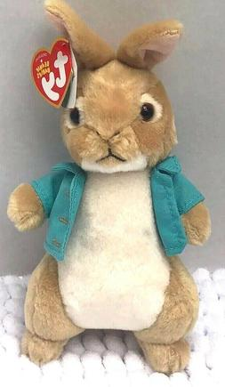 NWT Ty Cotton tail Peter Rabbit Stuffed Animal Bunny Easter