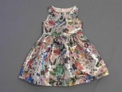 NWT H&M girls size 5-6 Nathalie Lete dress Easter Spring bun