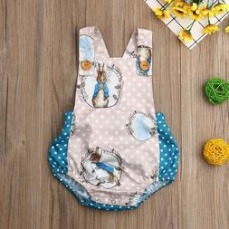 NWT Peter Rabbit Easter Bunny Rabbit Baby Girls Sleeveless R