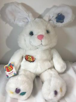 NWT Vintage 1988 Jelly Bean Easter Bunny Rabbit Plush Animal