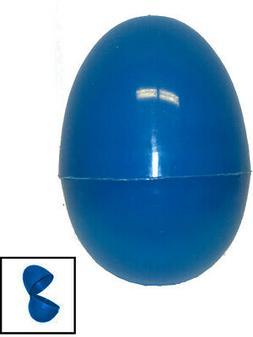 one blue 2 5 plastic easter egg