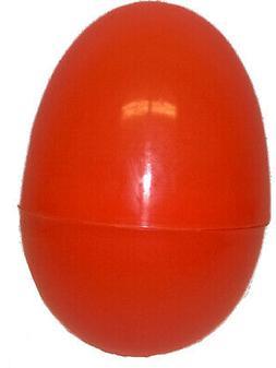 """One Orange 2.5"""" Plastic Easter Egg"""