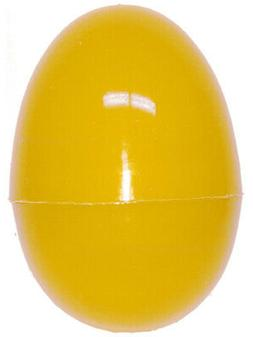 """One Yellow 2.5"""" Plastic Easter Egg"""