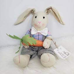 Organic Hip + Hop Bunny Weighted Plush Easter Bunny Rabbit S