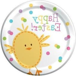 Creative Converting 8 Count Paper Dessert Plates, Bunny and