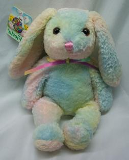 pastel colorful easter bunny rabbit 10 bean