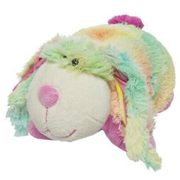 "My Pillow Pets Pee Wee Rainbow Bunny 11"""