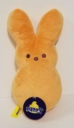"Peeps 9"" Orange Plush Toy Bunny Rabbit Stuffed Animals Kids"