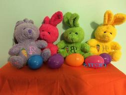 Personalized Stuffed Bunny, Easter Plushie Gifts, Basket Fil