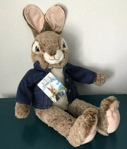 "PETER RABBIT MOVIE 16"" Stuffed Plush Bunny Gift BEATRIX POTT"