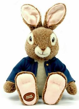 "PETER RABBIT MOVIE 16"" Stuffed Plush Easter Bunny Gift BEATR"