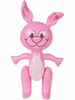 """PINK 24"""" Inflatable Easter Bunny Rabbit Party Decoration Bir"""