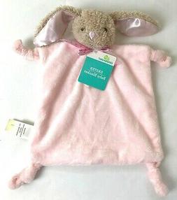 Dan Dee Pink Bunny Lovey Rattle Rabbit security Baby Blanket
