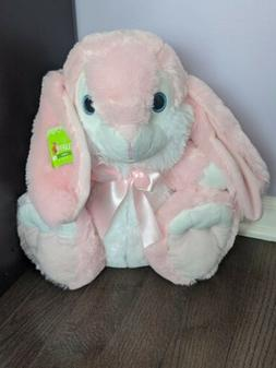 Pink Easter bunny plush stuffed animal  15 in