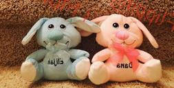 Pink ONLY Personalized Easter Bunny Rabbit Free Shipping Any