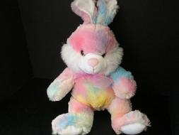 "Pink Pastel Plush Easter Bunny, 16"", New"