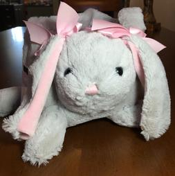 Plush Bunny Easter Basket  Cottontail Lane  Soft and Adorabl