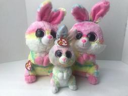Plush Bunny Rabbit Ty Lollipop Easter Toy Stuffed Animal New