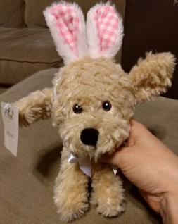 Plush Easter Bunny Puppy Dog Dumpling Pier 1  one Stuffed Pl