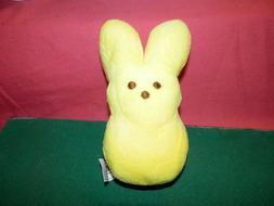 plush easter bunny yellow new
