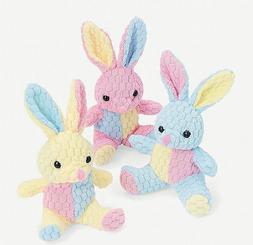Plush Honeycomb Easter Bunnies - Novelty Toys & Plush