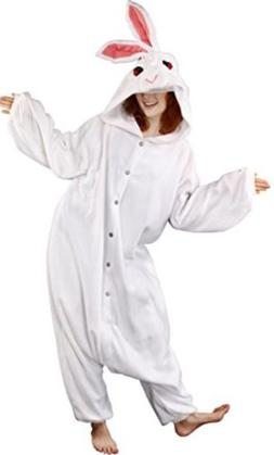 Cushzilla Rabbit Easter Bunny Adult Costume Cushy Pajama Kur