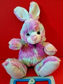 Rainbow Bunny Plush Easter Rabbit Stuffed Animal Goffa Color