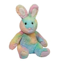 "Douglas Rainbow Sherbet 10"" Bunny plush stuffed animal Easte"